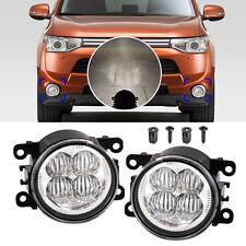 2pcs Highlighted LED White Fog Light Lamp Fit for Ford Focus Honda CR-V Acura TL