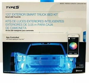 NEW TYPE S Plug & Glow 120'' EXTERIOR SMART TRUCK BED KIT Smart LED Truck Kit