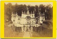 CDV Torino Villa della Regina Foto originale all'albumina Turin 1860c S1456