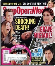 Soap Opera Weekly - 2010, September 21 - Shocking Death! Grave Mistake!
