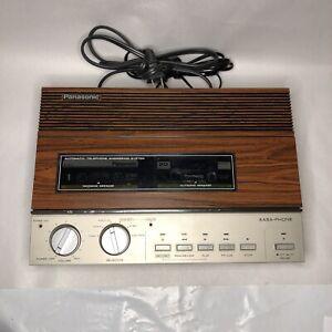Panasonic KX-T1520 Easa-Phone Automatic Telephone Answering Machine System
