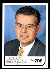 Michael Opoczynski ZDF Autogrammkarte Original Signiert # BC 62682