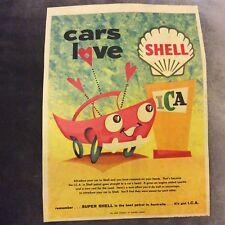 Advertisement - Shell Petrol - Australia - 1960