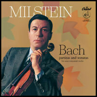 Nathan Milstein - Bach Partitas & Sonatas For Unaccompanied Violin [Ne