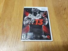 WWE '13 Nintendo Wii *Factory Sealed! *Free Shipping! BRAND NEW