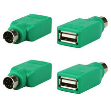 2x Adapter converter usb female to 2 Adapter Converter ps/male