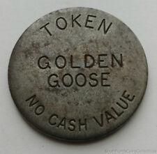 LAS VEGAS NEVADA GOLDEN GOOSE CASINO GAMING TOKEN #d
