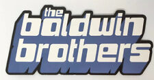 The Baldwin Brothers - Promotional Stickers