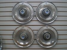 1964 FORD GALAXIE 500 Wheelcover WHEEL COVERS Hubcaps OEM SET 64