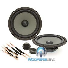 "FOCAL ISS-200 8"" CAR 80W RMS 2-WAY COMPONENT SPEAKERS ALUMINUM TWEETERS MIDS NEW"