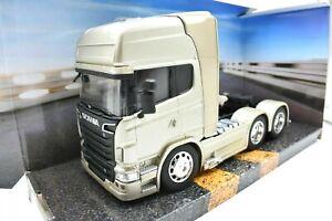 MODELLINO AUTO CAMION TRUCK LORRY SCANIA R730 V8 SCALA 1:32 diecast modellismo /