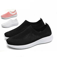 Women's Walking Shoes Casual Sport Loafers Slip-On Running Tennis Sneakers Gym