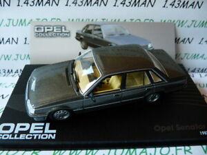 OPE106 voiture 1/43 IXO eagle moss OPEL collection : SENATOR A2 1982/86