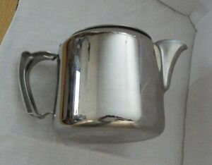 VINTAGE OLD HALL TEAPOT HOLDS 2 PINTS  18/8 Stainless Steel very clean condition