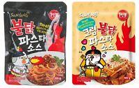 Korean SAMYANG BULDAK PASTA Sauce Series Original / Cream Taste Hot Spicy