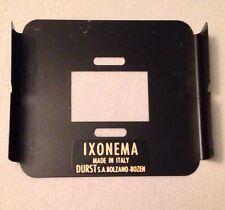 Durst 35mm Enlarger Ixonema Negative Carrier Frame S.A. Bolzano-Bozen