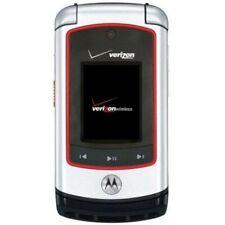 Motorola Adventure V750 - Silver Black (Verizon) PTT 3G Camera Flip Cell Phone
