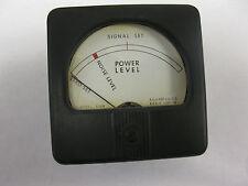 Honeywell 53SN Audio Level Meter Signal Set Noise Level Power Level
