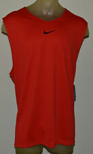 New Nike Elite Ultimate Sleeveless Basketball Mens 3X-Large Red Shirt 545489 657