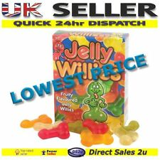 Jelly Willies Fruity Flavoured Willy Shaped Adult Rude Sweets Hen Valentine