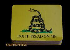 100 ZAP DON'T THREAD ON ME DECAL USA USA 911 TEA PARTY
