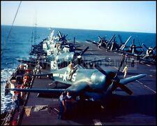 USMC F4U Corsair VMF-323 Death Rattlers Korea 1951 8x10 Aircraft Photos