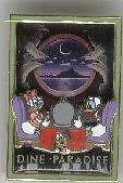 Disney DCL Dine Paradise Daisy Donald Duck Pluto Cruise Line Pin