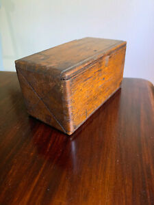 Antique Singer Sewing Machine 1889 Oak Puzzle Box *some attachments included