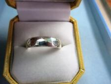 Vintage SOLID SILVER WEDDING, BAND RING - 5g!