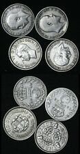 4 Various Silver King George V Coins United Kingdom  KM: # 848 813 831 797 UK