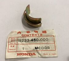 Semilune scarico - Exhaust pipe collar - Honda CB650 NOS: 18233-460-000
