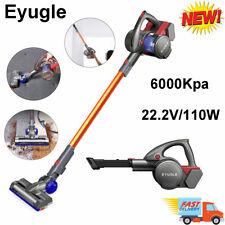 Eyugle 2-in-1 Cordless Handheld Vacuum Cleaner Electric Floor Brush 6000Kpa 110W