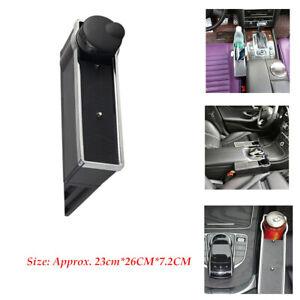 Universal Classic Car Seat Driver Pocket Storage Armrest Box Holder  Driver Side