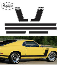 Mustang  Hockey Stick stripes for 1969 model