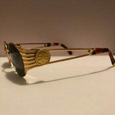 Sonnenbrille Vintage Fendi  FS 300 col. 261 gold glamour oval NOS Sunglasses