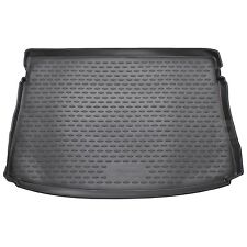 VW Golf Mk.7 Hatchback 13-18 Rubber Boot Liner Fitted Black Floor Mat Protector