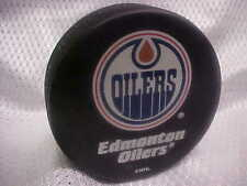 NHL Edmonton Oilers Sher-Wood Official Licensed Souvenir Hockey Puck