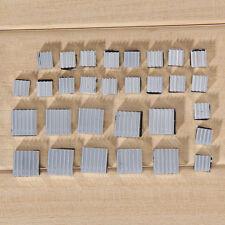 30Pcs Aluminum Heatsink Cooler Adhesive Kit for Cooling Raspberry Pi New