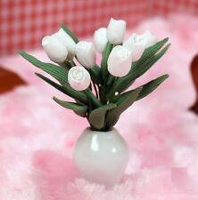 1:12 Scale Tulips Flower Flora Dollhouse Miniature Re-ment Fairy Home Scene