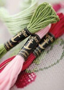 Anchor Stranded Cotton 266 - 349