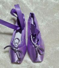 1/3 BJD girl SD ballet shoes slippers toe shoe Doll ABJD Dollfie Toy Lt Purple