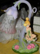 Disney Tinkerbell Tulip Flower Lamp with Original Box 27130