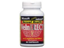80 CAPSULES MASON VITAMINS VEIN ERECT L-ARGININE MACA SEXUAL ENERGY SEX POTENT