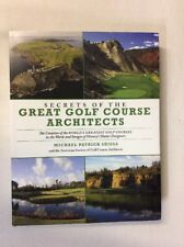 Secrets of the Great Golf Course Architects by Michael Shiel (HC)-Good