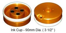 Pad Printing 90mm 35 Ink Cup With Ceramic Ring For Pad Printer Magnetic