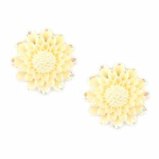 Resin Alloy Clip - On Costume Earrings without Stone