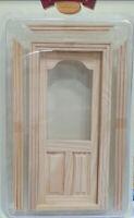 Puerta de madera para casita muñecas escala 1/12  dollhouse Artesania Latina