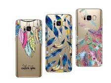 Samsung Galaxy S8 Plus - Pack de 3  coques souples et solides avec motifs