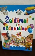 ZAIDIMAI IR UZDUOTELES lithuanian book