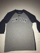 The Nike Tee Yankees Baseball Sleeves T-Shirt Mens Size Medium NWOT!